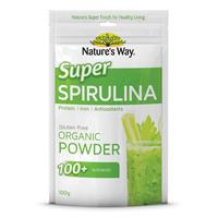 Tảo xoắn - Nature's Way Super Spirulina 100+ 100g