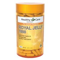 Sữa ong chúa Heathy Care Royal Jelly 1000mg 365 viên