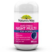 Bổ sung Vitamin phục hồi ban đêm - Nature's Way Rest & Restore Night MultiVitamin For Women 60 viên