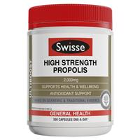 KEO ONG SWISSE ULTIBOOST HIGH STRENGTH PROPOLIS 2000MG 300 VIÊN