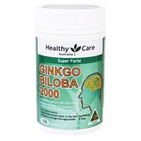 Healthy Care Gingko Biloba 2000mg 100 viên nhộng