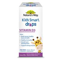 Bổ sung Vitamin D cho bé - Nature's Way Kids Smart Drops Vitamin D3 20ml