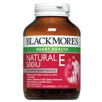 Blackmores Natural Vitamin E 500IU 150 Viên