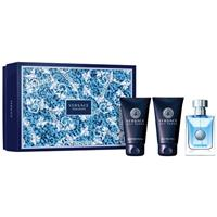 Versace Pour Homme Set Eau de Toilette 50ml plus Shower Gel 50ml plus Shampoo 50ml